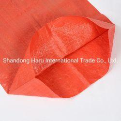 حقيبة PP منسوجة حقيبة بلاستيكية النشويات صينية موردين طباعة 5 كجم 25 كجم 50 كجم 100 كجم