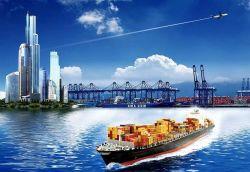El aire, mar, la expedición de mercancías de China a los Estados Unidos