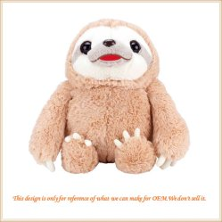 Charmant Fat Bradypod farcies Sloth un jouet en peluche