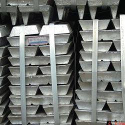 GB/T 470 Rote Markierungen Zink-Ingot hoher Gehalt Zink nicht Aluminiumgehalt Zink 99,995% Min HDG Verzinkt