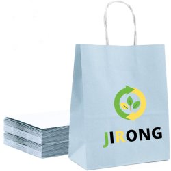 الجملة تصميم جديد الشعار مخصص إعادة تدوير أكياس الهدايا بالجملة