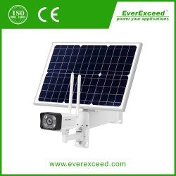 Caméra de sécurité d'énergie solaire avec Batterie rechargeable 1080p HD étanche le capteur de détection de mouvement IRP Night Vision 4G LTE audio bidirectionnelle