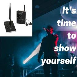 전문가용 IEM 이어폰형 Stage 모니터 무선 마이크 시스템
