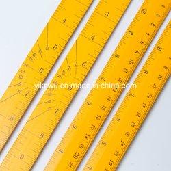 도매 저렴한 홍보 아이들 나무 목조 직진 눈금자 30cm