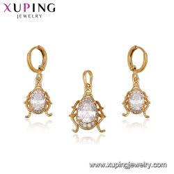 La moda simple conjunto de joyas de aleación de metal de oro