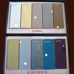 MDF UV brilhante de alta em diferentes espessuras (ZHUV fábrica)