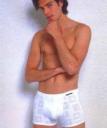 Boxer blanco corto para los hombres/Caballero favorito de los hombres la ropa interior/Boy bastante calzoncillos