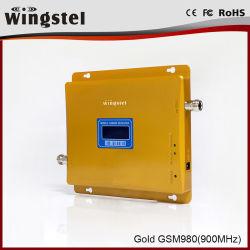 Repetidor de RF de 900MHz 30dBm 2000m² GSM980 Amplificador de señal móvil