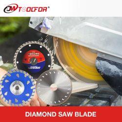 أداة تنظيف شفرشة دائرية الشكل من الماس بالجملة للحواجر، وقطع جاف/رطب، وحافة متواصلة