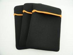 "Ordenador portátil de neopreno de mangas de la Tableta cubierta de la caja de la bolsa impermeable a los golpes de 13 pulgadas de 11 pulgadas (13"" funda para portátiles, naranja, negro)"