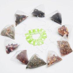 Нейлоновые треугольник чай с лимоном пирамиды имбирь зеленого чая