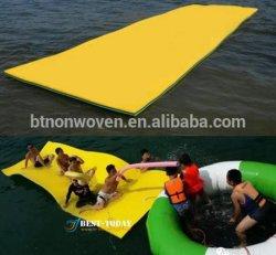 Tamaño grande de 3 capas de espuma XPE Estera cama flotante de agua para piscina falta Beach