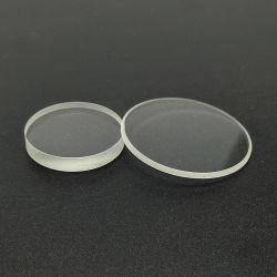 38,1 mm de diamètre en silice fondue V Revêtement de verre de quartz 1064nm Laser pour Windows