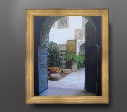 Стиль Italiandesign деревянные рамы для литья под давлением для картины маслом, изображение, Photographa и наружного зеркала заднего вида