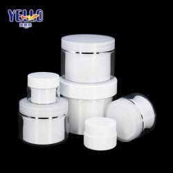 Claro vazio parede dupla Embalagem de cosméticos 15ml 30ml 50ml 100ml 150ml 200ml 250ml 300ml de plástico para pele Nata misturador