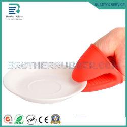 OEM/ODM-Food Grade кухонные рукавицы термостойкий ручка для выпекания Mitt барбекю печь держатель потенциометра силиконового герметика