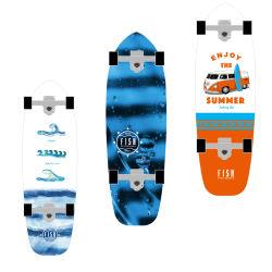 Personalized 7 capas de arce canadiense pescado Mini crucero Skate Surf Skate patineta Wholesale