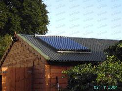 Tube evacuato Home Solar Panel con Solar Keymark (SCM-02)