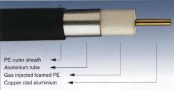 Kabel-Kabel-Koaxialkabel-Aluminiumgefäß P3 565 mit Kurier