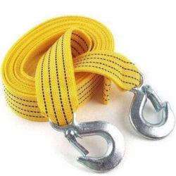 Corde de remorquage le remorquage de sangle en Nylon de crochet en acier de la corde de remorquage d'Étirement de dessin de voiture