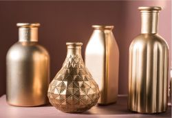 Nordische Art-Haushalts-Wohnzimmer-transparente Blumen-Glasvasen-Verzierungen