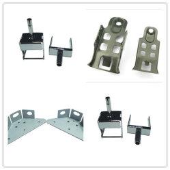 Aluminio Acero OEM Soporte de estampación de piezas de estampación metálica