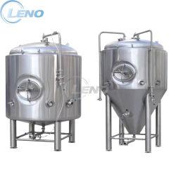 SS304 SS316L'usine de bière cuve de fermentation de l'éthanol