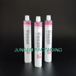 Coloración del cabello de aluminio de tubo de envases vacíos Max 6 colores de impresión offset.