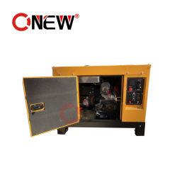 Diesel Fuelless Super potencia trifásica Denyo silenciosa portátil batería de arranque automático eléctrico refrigerado por aire los generadores de energía/carga de grupo electrógeno 10kVA 380V con el precio de ATS
