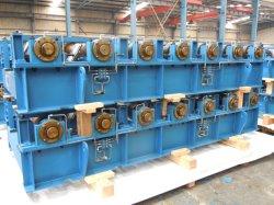 جدول بكرات الخدمة الشاقة مع 7 بكرات معدات التعدين المصنعة للمعدات الأصلية
