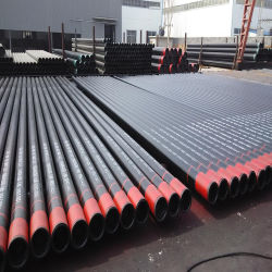 ASTM A106B/A53 gr. B Seamless Schedule 40 Tubo de Aço Carbono utilizados para oleodutos e gasodutos de gás