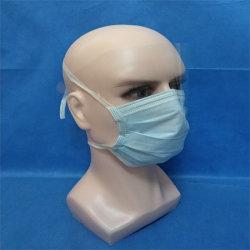 Nichtgewebte medizinische chirurgische Wegwerfschablone/Wegwerfschablonen-Gesichtsmaske/medizinische Schablone/Wegwerfschablonen-chirurgische Gesichtsmaske mit Schild-Antinebel