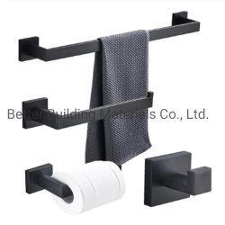 유럽 스타일의 대나무 욕실 액세서리 세트 및 욕실 악세사리 검정색 욕실 액세서리 세트