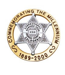 Commerce de gros de bonne qualité de la fabrication de la Californie d'un insigne de l'épinglette personnalisée