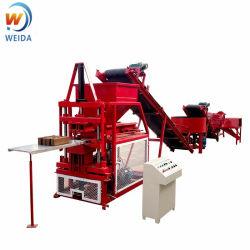 Qtc2-10高性能の粘土の煉瓦作成機械赤い泥販売のための機械装置を妨げるため