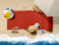 OEM 사용자 지정 인쇄 고품질 부드러운 모래 무료 여행 캠핑 100% 폴리에스테르 비치 타월 모래가 있는 야외 여행 수영용 담요 재고