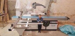 De professionele Zaag van de Lijst van Italië van de Machines van de Houtbewerking Glijdende