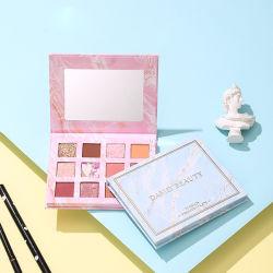 12 kleuren Multi-Color combinatie Beauty Cosmetica Make-up Beginners Pearlescent Matte Niet-modderpoel Eyeshadow palet