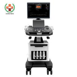 Scanner diagnostico di ultrasuono di Doppler USG di colore medico del carrello di Sya-5t