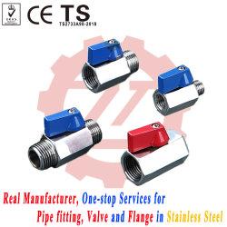 Mf mm van FF Pn63 Rendabele Ss MiniKogelklep
