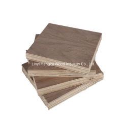 Venta caliente negro de alta calidad de chapa de madera de nogal Burl