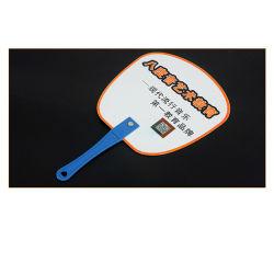 Barato Regalar marca Logotipo personalizado de Plástico PP Abanicos