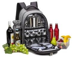 Poliéster 600d Bolsa mochila de picnic para 4 personas