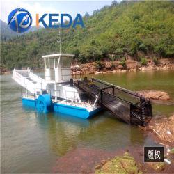 Мусор на лодке Skimmer/водных растений комбайн/плавающего мусора очистка судна