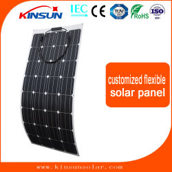 Hocheffiziente Solarzellen 120W 18V Solar Power Semi flexibel Solarpanel