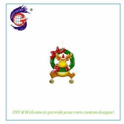 Het dierlijke Hangen van de Decoratie van de Ambachten van het Metaal van de Kronen van Kerstmis van de Vorm