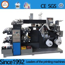 Stampatrice flessografica di plastica di carta centrale dell'etichetta adesiva del PE BOPP della stampatrice di Flexo dell'impressione di Web stretto automatico pp