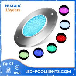 IP68 소형 둥근 온천장 수영장 램프 6W RGB 옥외 LED 수중 빛