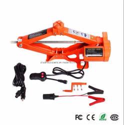 Haute qualité Ciseaux 12 v de 3 tonnes cric avec une clé électrique