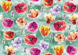 Tissu imprimé numérique Kimono mousseline de soie de soie pour couvrir